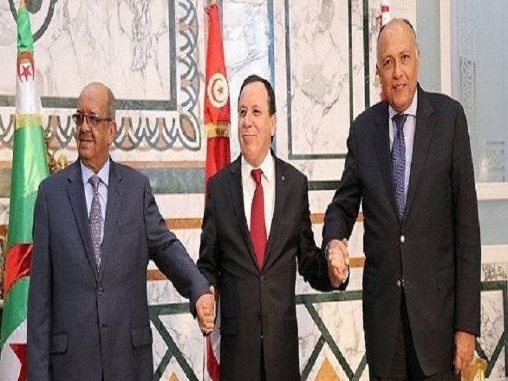 اجتماع وزراء خارجية الجزائر ومصر وتونس لتقييم الوضع في ليبيا - مصراوي