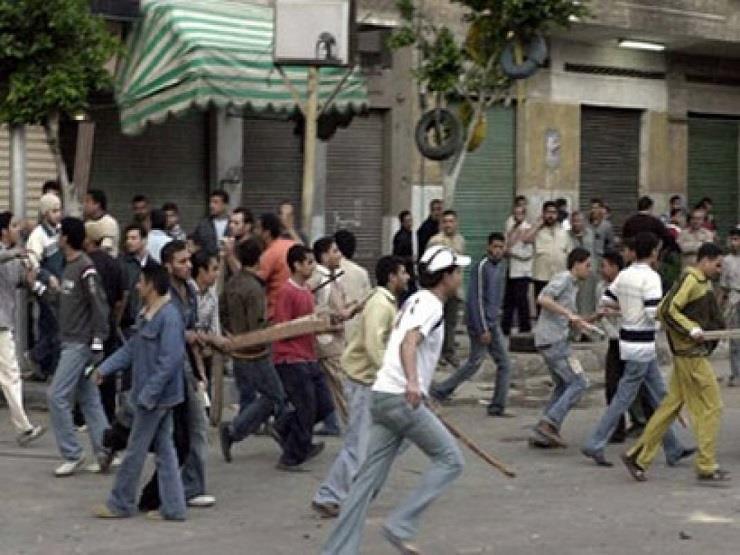 أفراد أمن يتصدون لمتشاجرين قبل تهشيمهم محتويات بمستشفى دسوق