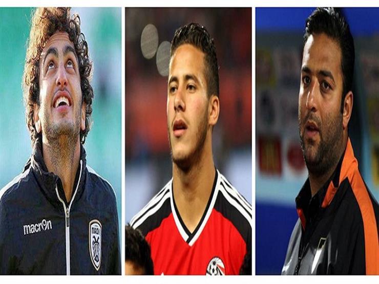 """ميدو يوضح: لماذا يفضل البدء بوردة أساسيا أمام تونس؟.. وسر تقبيل رأس """"المعلم"""""""