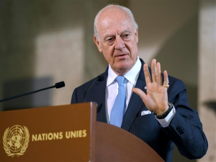 ميستورا: نحن بحاجة إلى بدء عملية سياسية في سوريا بعد انتهاء محادثات أستانا