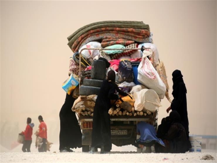 360 نازحا سوريا غادروا مخيم الركبان إلى مناطق الحكومة