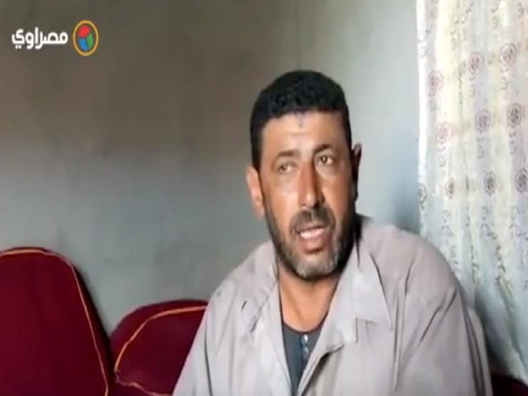 شقيق زوجة ضحية الصعق : جثته كانت سايحة علي العمود ومنظرة يشيب