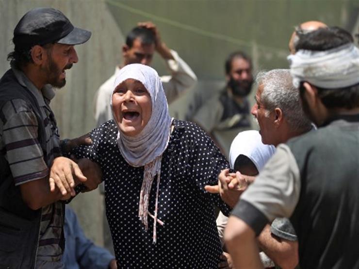 صورة وخبر: عجوز تبكي على الموصل