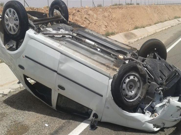 مصرع مدير الهلال الأحمر بالمنيا في انقلاب سيارته على الطريق الصحراوي