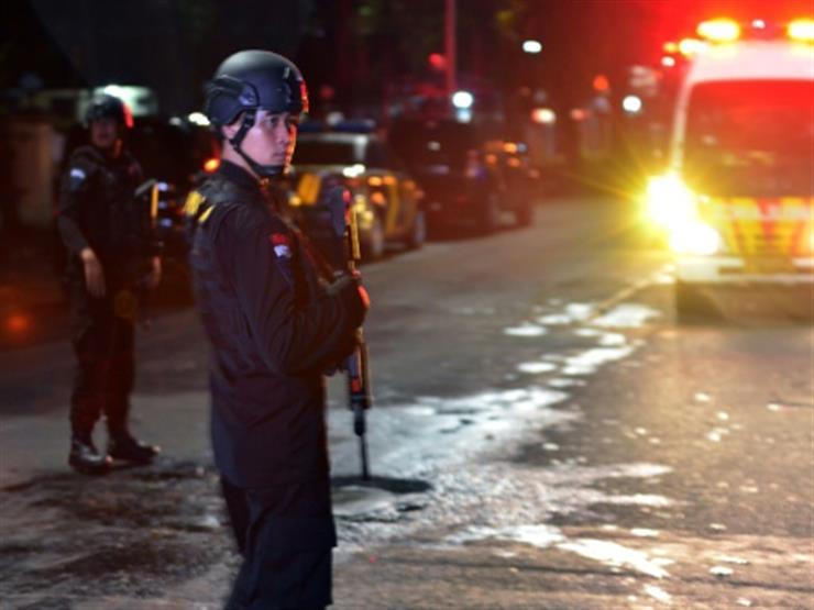 مقتل مهاجم طعن شرطيين في اندونيسيا