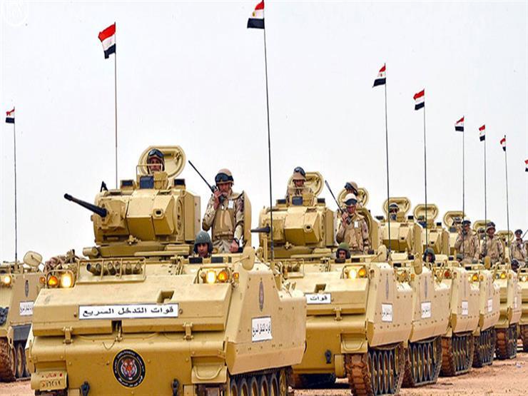 مصدر عسكري ينفي إرسال أي قوات مصرية إلى سوريا...مصراوى