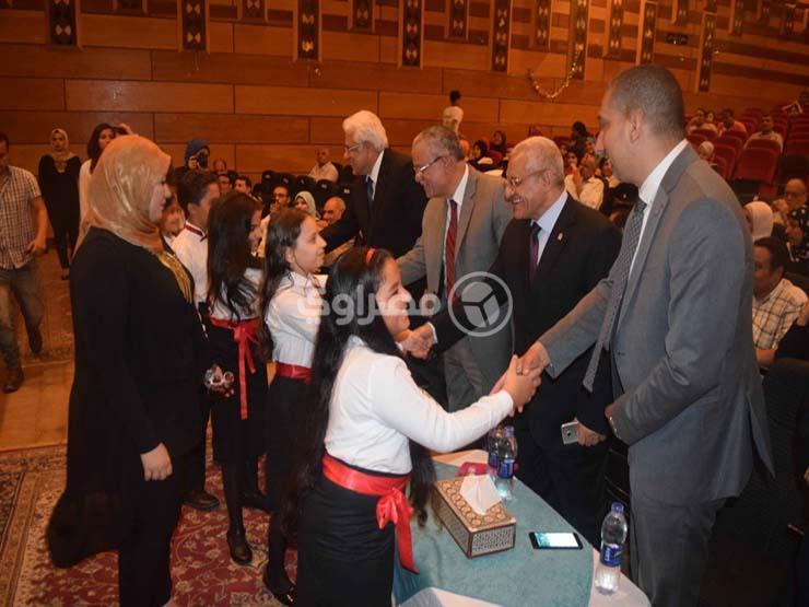 بالصور.. حسام بدراوي: طالما الدولة قوية فلا خوفٌ من المدارس ...مصراوى