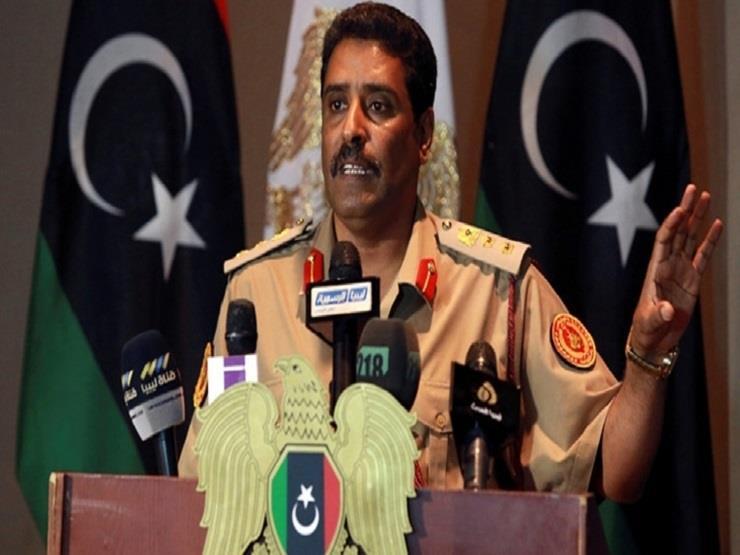 المتحدث العسكري الليبي يعقد مؤتمرا صحفيا لشرح تجاوزات قطر في الشأن الليبي