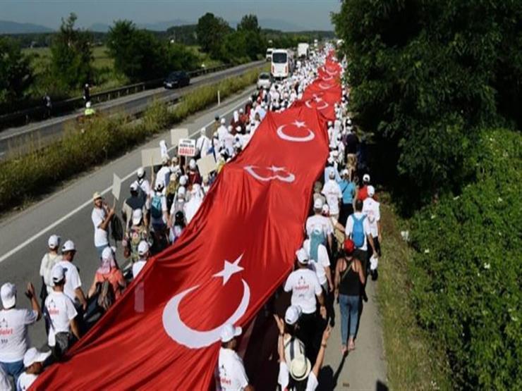 """""""مسيرة العدالة"""" تتحدى أردوغان"""