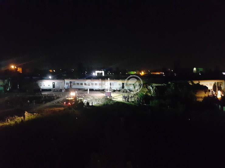 وزارة النقل: إزالة آثار حادث قطاري الإسكندرية مستمرة لعودة الحركة