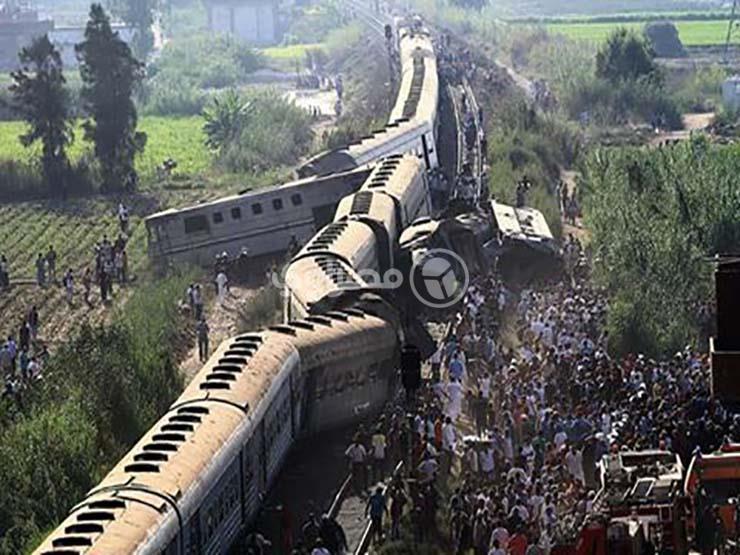 الإحصاء: 142 حادثة قطار خلال يوليو الماضي