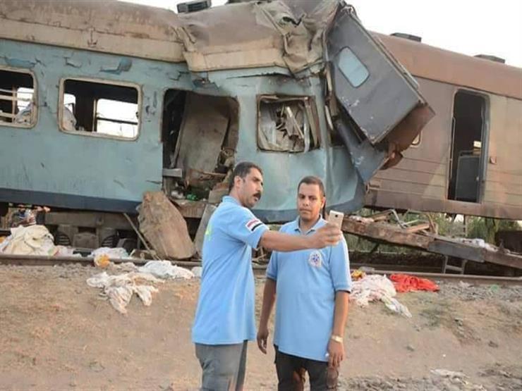 بعد واقعة السيلفي.. الصحة تنقل مسعفي حادث قطاري الإسكندرية إلى سيوة