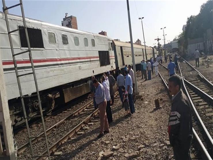 """عودة حركة القطارات في الاتجاهين بخط """"القاهرة - الإسكندرية"""""""