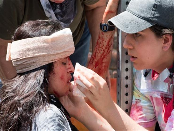 صورة وخبر: دماء مناهضة العنصرية