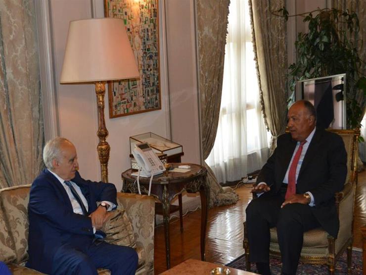 وزير الخارجية بيحث مع المبعوث الأممي الأزمة الليبية...مصراوى