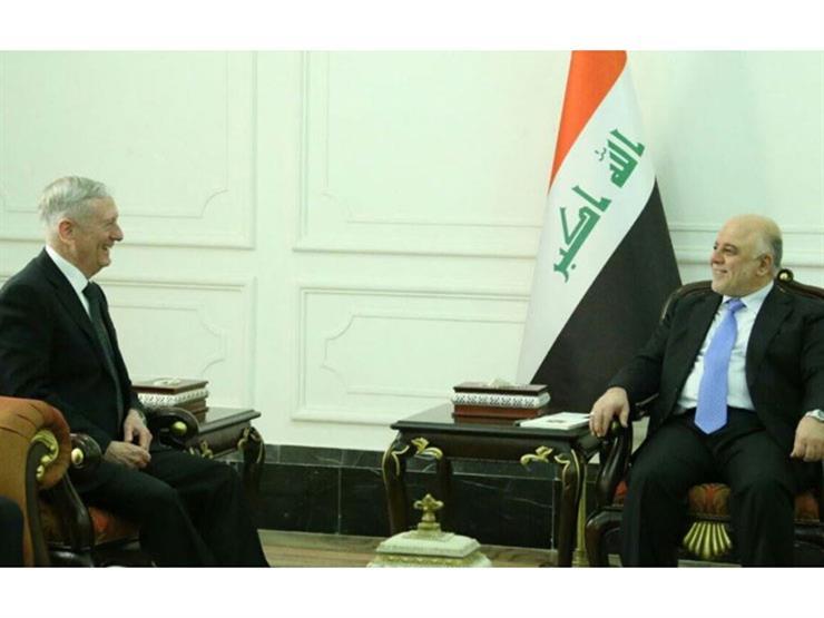 رئيس الوزراء العراقي ووزير الدفاع الأمريكي يبحثان الحرب على الإرهاب