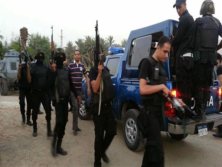ضبط عناصر إرهابية استهدفت سيارة مجندين بالفيوم