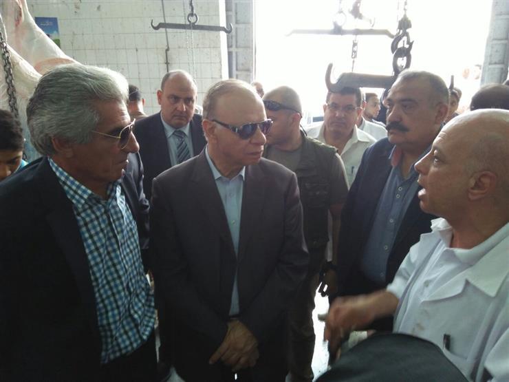 محافظ القاهرة: محاضر ضد محلات الجزارة التي تترك مخلفات الأضاحي بالشوارع