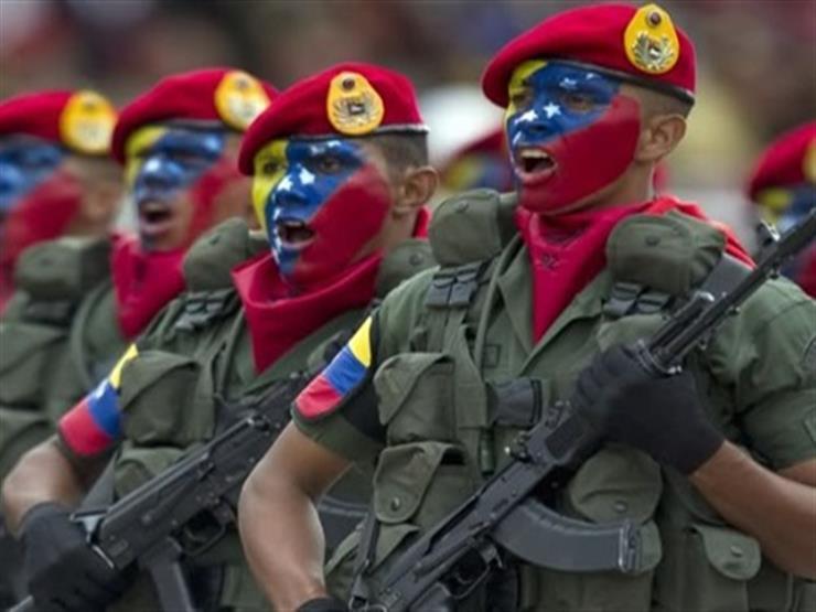 الجيش الفنزويلي يجري تدريبات عسكرية على الحدود مع كولومبيا