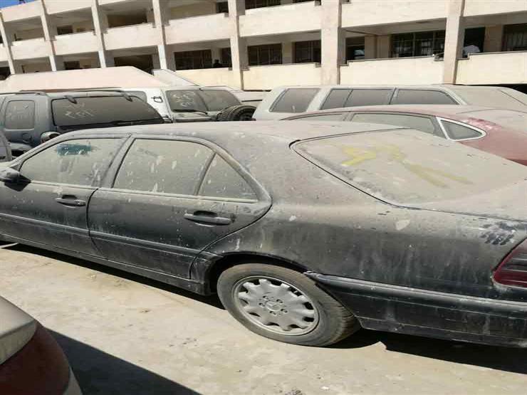 جمارك السيارات  بمطار القاهرة تعرض 97 سيارة للبيع بالمزاد ا...مصراوى
