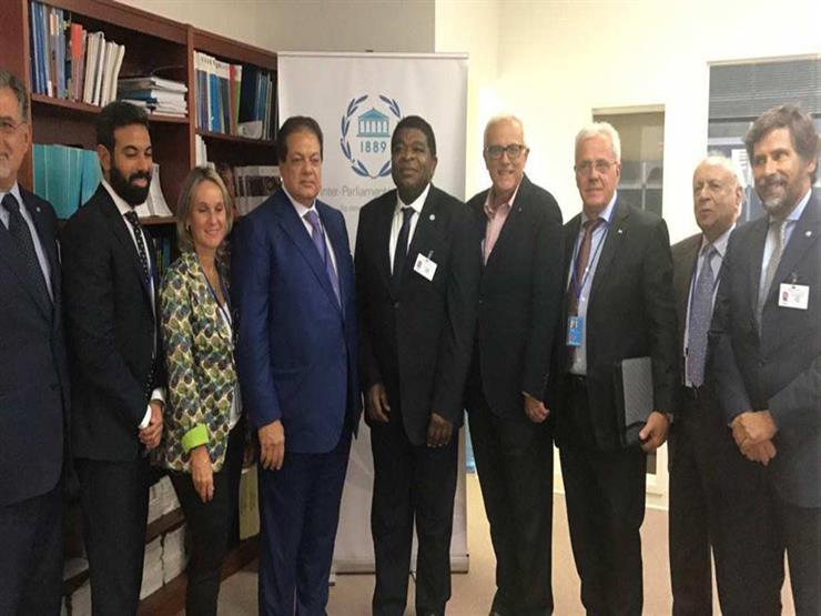 أبو العينين يدعو المجتمع الدولي لاستغلال جهود مصر لإحياء عملية السلام