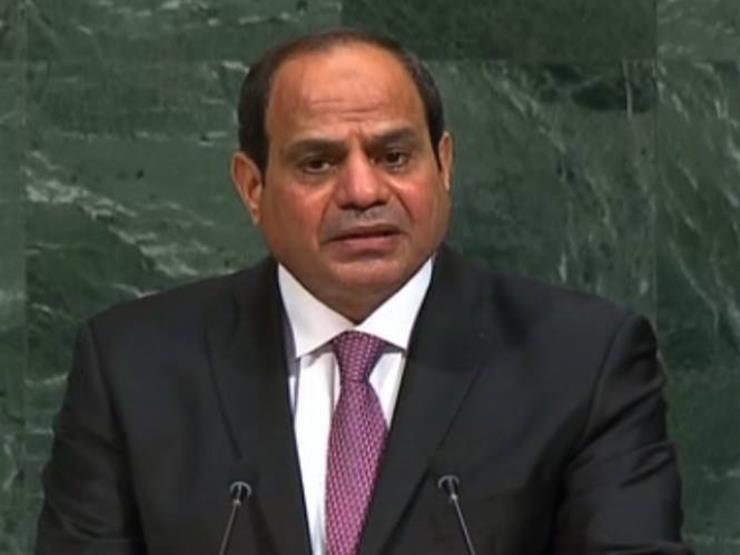 السيسي: لابد من إقامة دولة فلسطينية عاصمتها القدس الشرقية لضمان استقرار المنطقة
