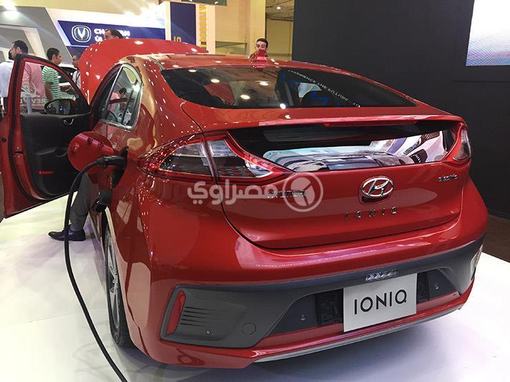 بالصور.. أول  سيارة كهربائية  بمصر حاضرة في  أوتوماك فورميلا...مصراوى