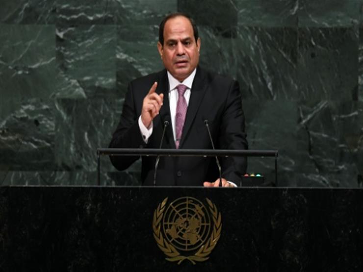 السيسي: نهر النيل ليس حكرا لطرف ومياهه بالنسبة لمصر ضرورة للبقاء