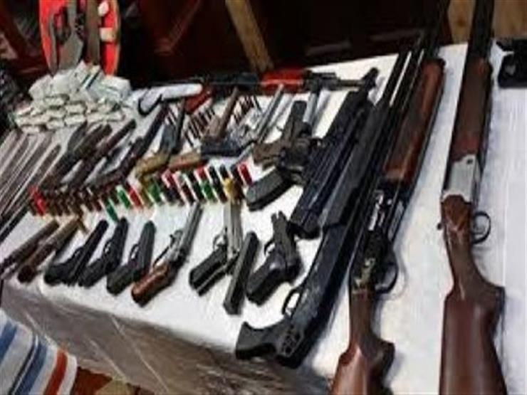 بينهم جرينوف.. ضبط 1200 قطعة سلاح وكشف غموض 24 حادثًا جنائيًا خلال أسبوع