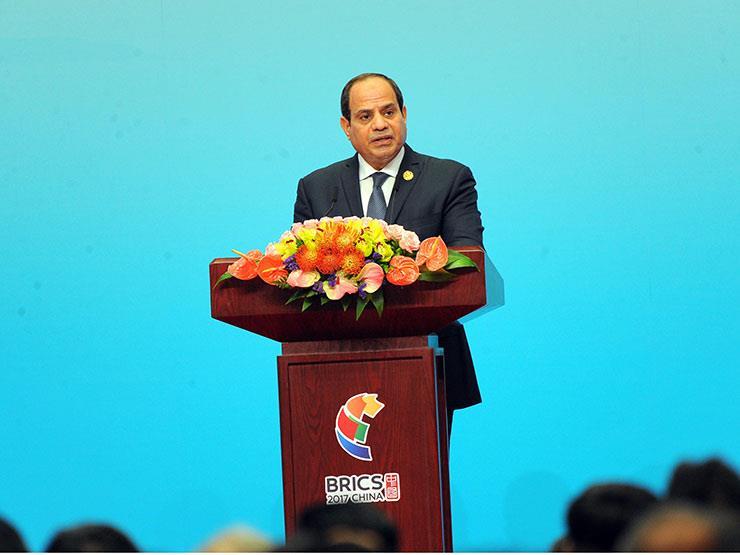 السيسي: الشعب المصري هو الجندي المجهول الحقيقي وتحمل الإصلاحات بصبر وقوة