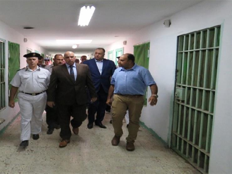 مساعد وزير الداخلية لقطاع السجون يتفقد الأحوال المعيشية والصحية لنزلاء سجن المرج