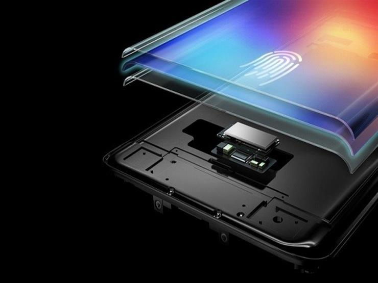 أول هاتف محمول بماسح بصمة مدمج بالشاشة