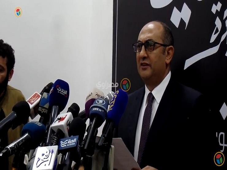 خالد علي يطالب بنزع دعاية مرشحي الرئاسة لحين بدء الجدول الزمني