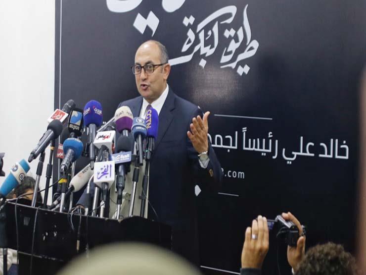 خالد علي: نناضل من أجل عملية انتخابية نزيهة