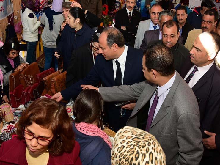 نتيجة بحث الصور عن منتجات 100 أسرة فى معرض «الأسر المنتجة» بالإسكندرية