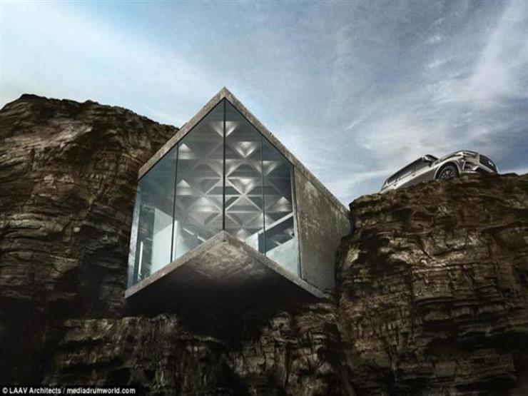 بالصور- منزل فاخر على حافة جبل.. هل يمكن العيش به؟...مصراوى