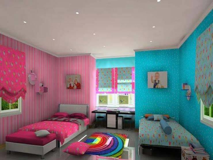 تعرف على ألوان وديكور غرف أطفال تناسب الجنسين مصراوى