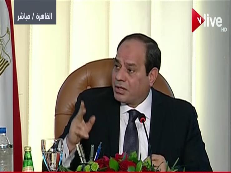 السيسي يكشف عن الإجراءات التي اتخذتها مصر بعد أزمة سد النهضة...مصراوى