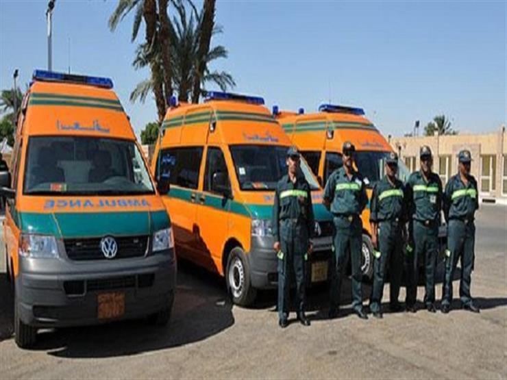 وزير الصحة: الدفع بـ 12 سيارة إسعاف ومستشفى ميداني لتأمين معرض الكتاب