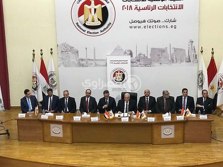"""""""الوطنية للانتخابات"""" تعلن القائمة المبدئية لمرشحي الرئاسة"""