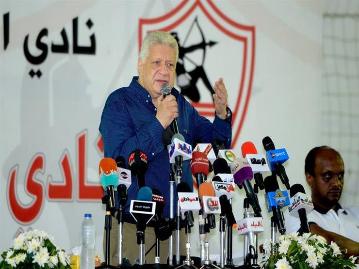 مرتضى منصور يضع شرطًا واحدًا للاعتذار لحازم إمام...مصراوى