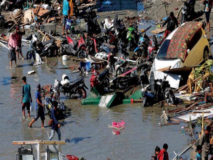 ارتفاع حصيلة قتلى زلزال وتسونامي إندونيسيا إلى 2045 شخصًا...مصراوى