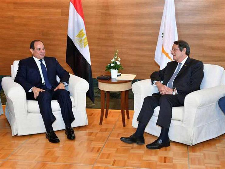 الرئيس القبرصي: اللقاء الثلاثي مع مصر واليونان يمثل إضافة هامة للروابط المشتركة