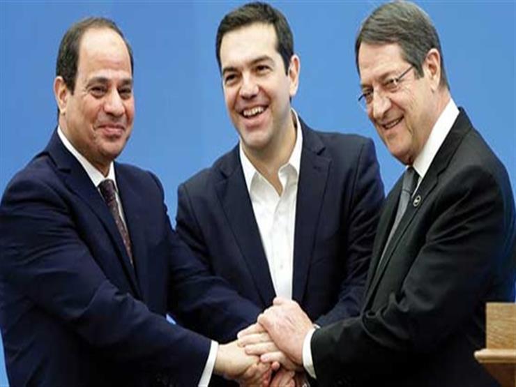 السيسي: القمة المصرية اليونانية القبرصية تمثل حصناً منيعاً في مواجهة التحديات المتصاعدة