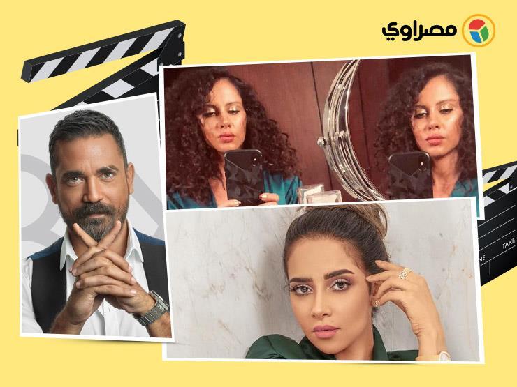 ريا أبي راشد بالسعودية و ياسمين رئيس وسط أدوات التجميل.. 10 لقطات لنجوم الفن خلال 24 ساعة