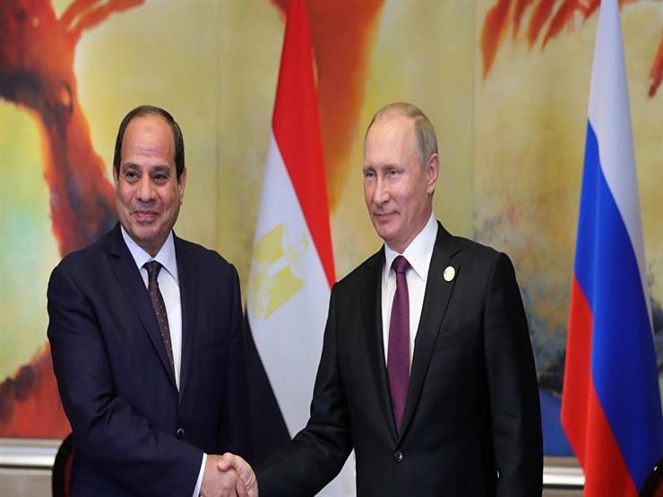 الكرملين يعلن موعد لقاء الرئيس السيسي مع بوتين في روسيا