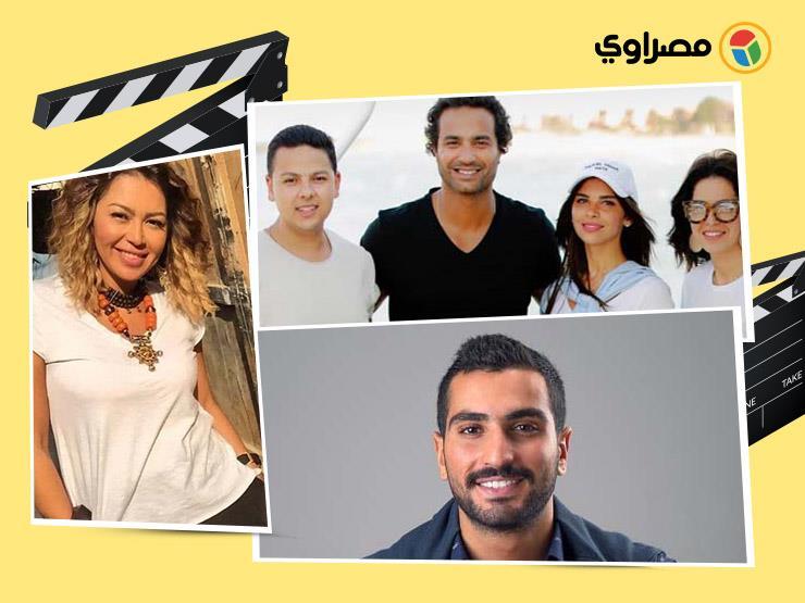 أناقة  ريم البارودي و طفولة  سارة الشامي.. 10 لقطات لنجوم ...مصراوى