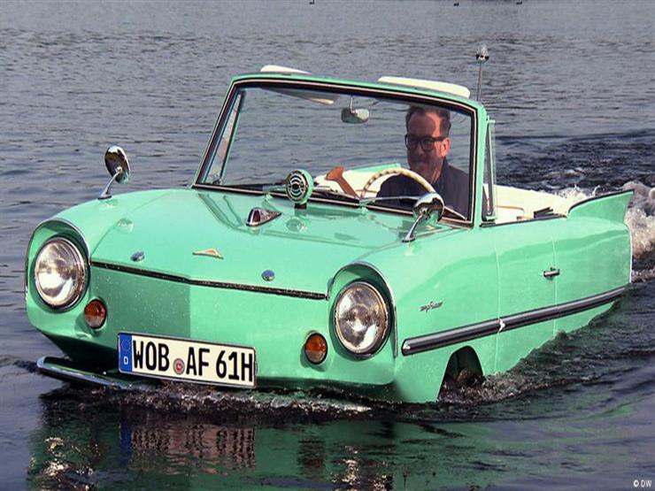 """بالفيديو - """"أمفيكار"""" أول سيارة برمائية في العالم.. سعرها مليون جنيه"""