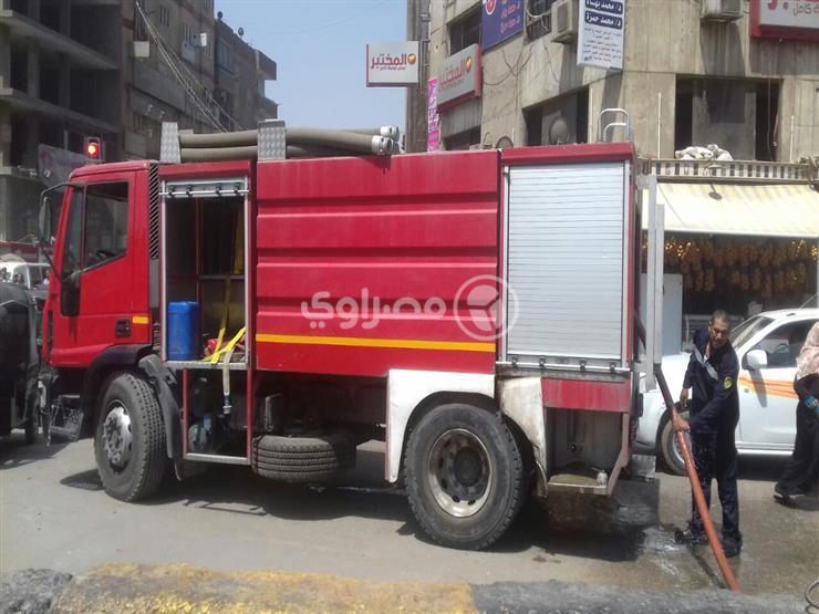 السيطرة على حريق بشقة عضو هيئة قضائية بميدان لبنان