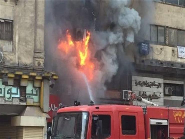 3 سيارات إطفاء تخمد حريقا في شقة بالعجوزة دون إصابات